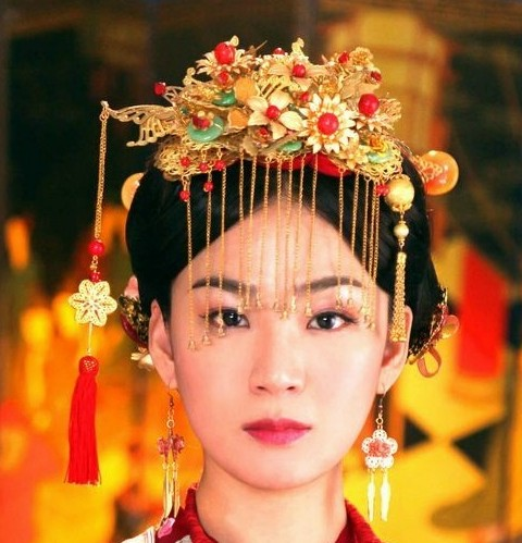Cultural Wedding Makeup : Gallery For > Traditional Korean Wedding Makeup