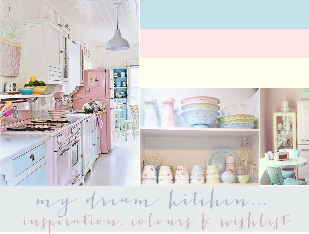 home, home bloggers, home wishlist, kitchen wishlist, moving out wishlist, moving out, pastel kitchen, pretty kitchen, vintage kitchen, kitchen inspiration