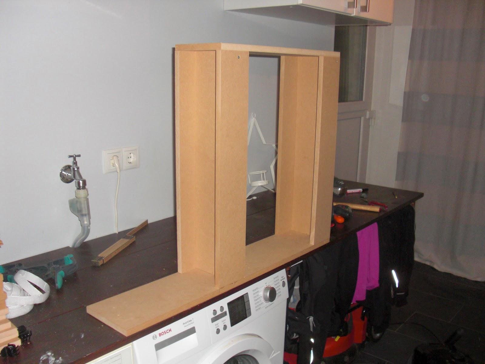 heim elich dyi schmaler roll schrank. Black Bedroom Furniture Sets. Home Design Ideas