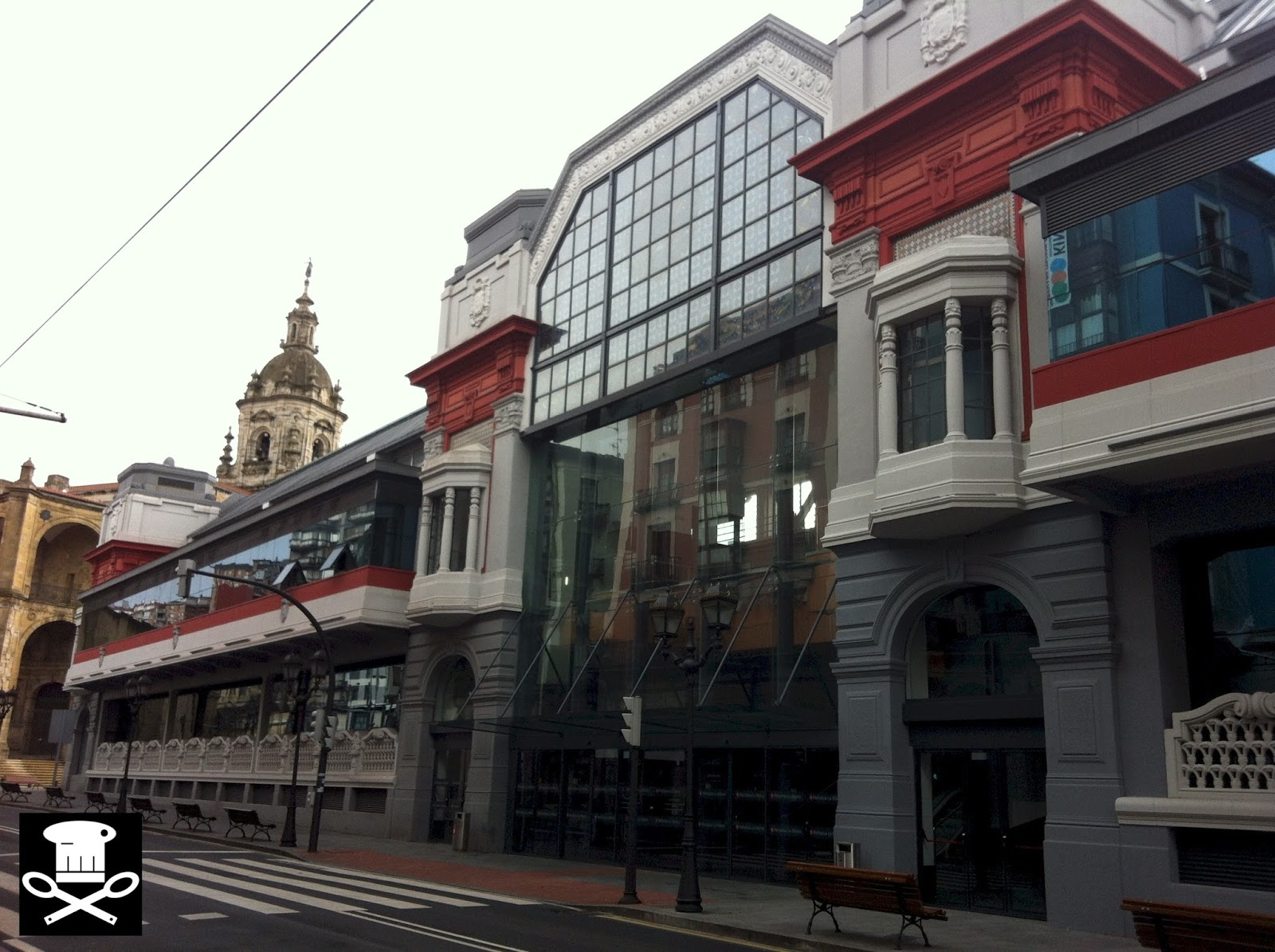 Mercado de la Ribera de Bilbao - Eneko sukaldari
