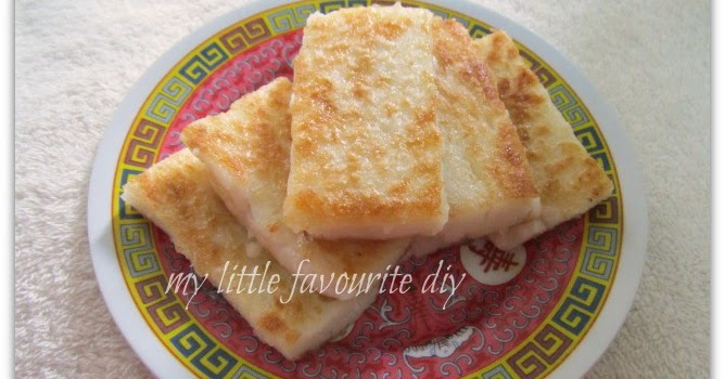 my little favourite DIY: Loh Bak Gou(蘿蔔糕 ) ~ Fried white radish ...