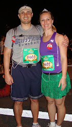 Princess Half with my hubby 2011