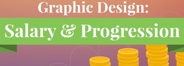 Expected Job Salary & Career Progression of Graphic Designer Infographic