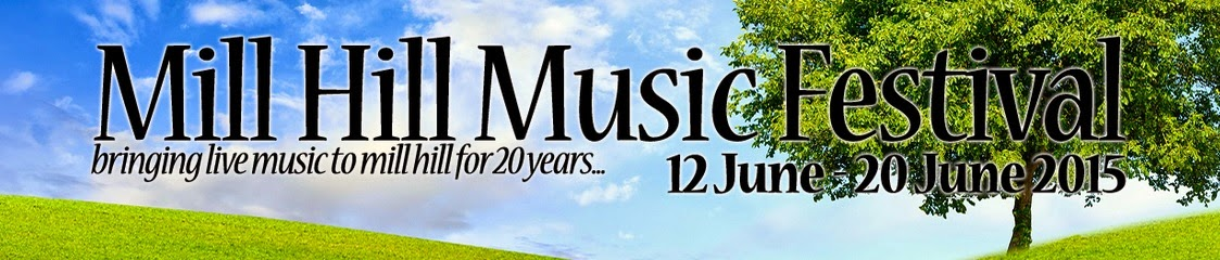 Checkout the Mill Hill Music Festival programme