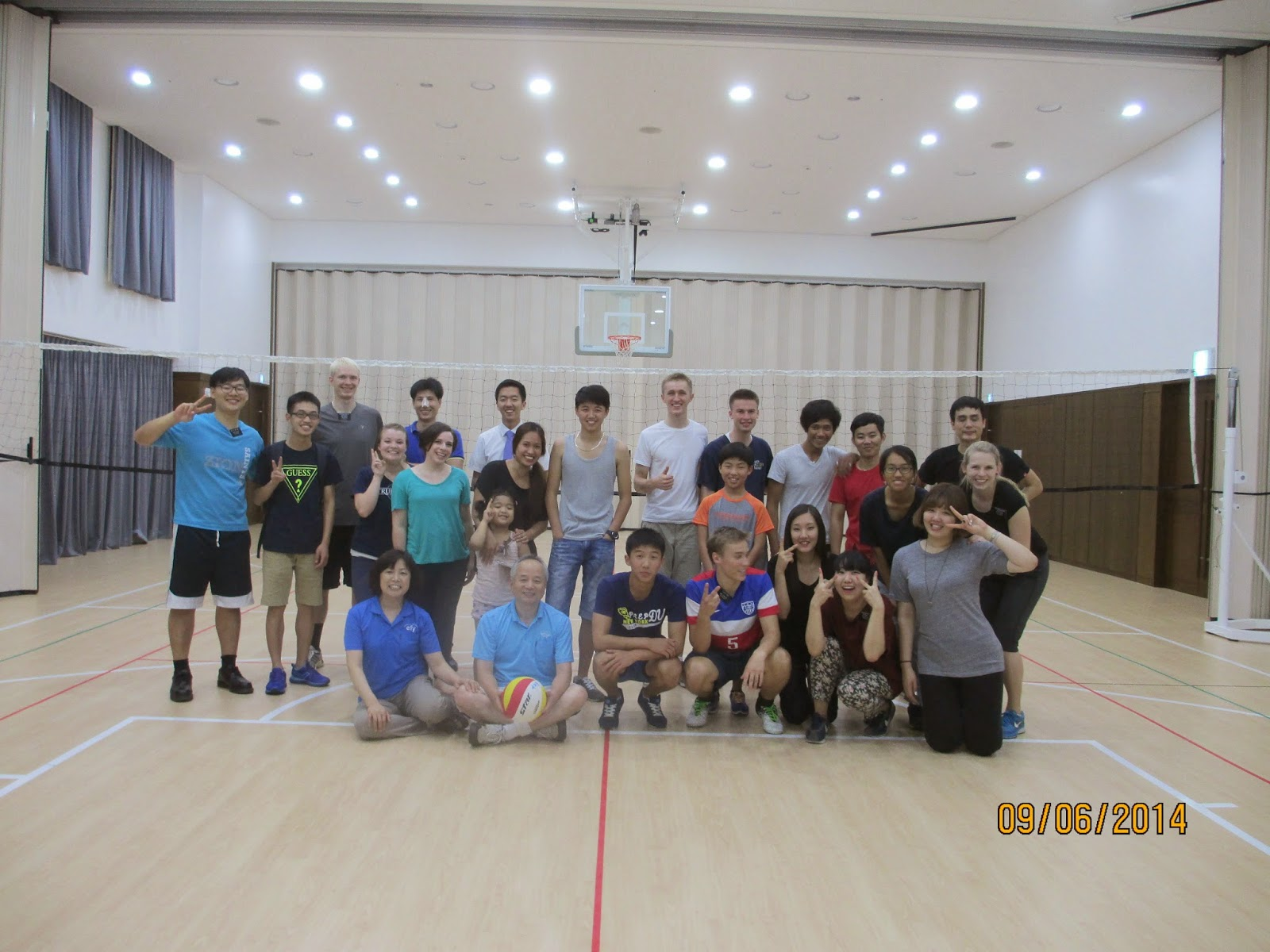 we had a sports night and quite a few people came!