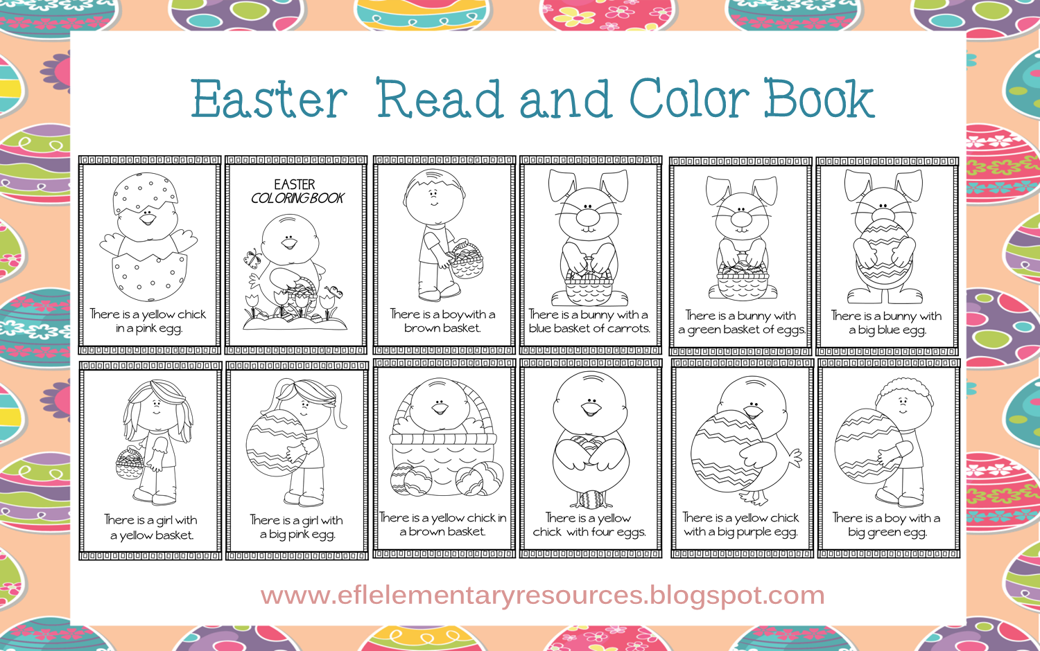 Easter Pocket Chart: a wonderful resourceto have in the class for ...
