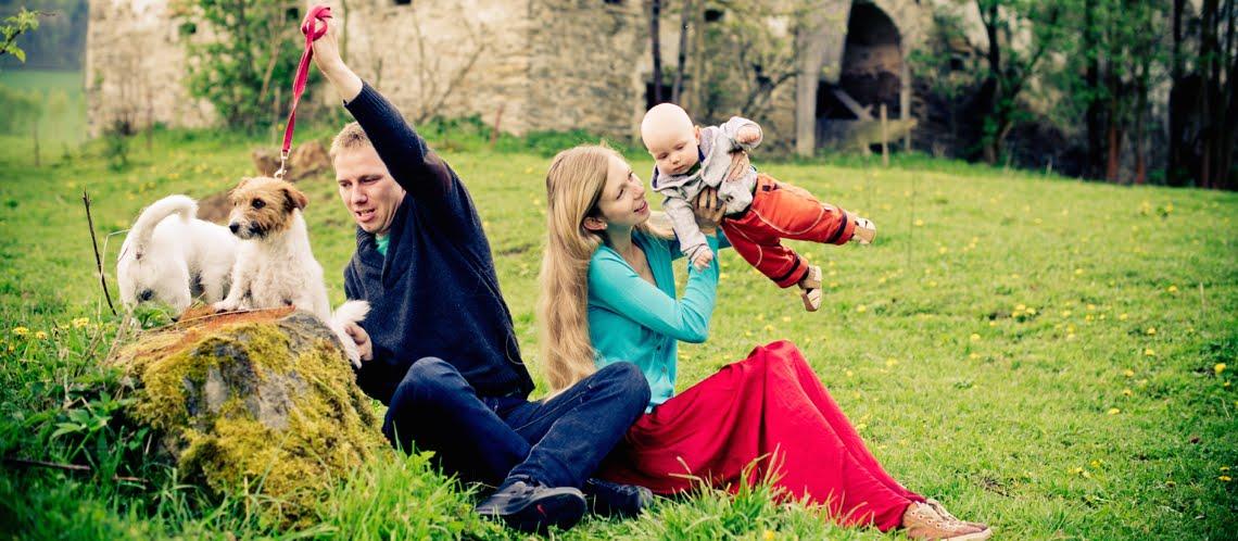 5 švestek | cestování + děti + psi