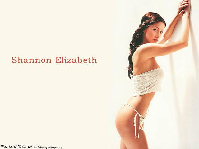 American Model Shannon Elizabeth