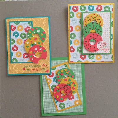 MidnightCrafting Doughnut Day Cherry on Top Stampin Up