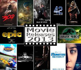 Daftar Film Terbaru Bioskop 2013