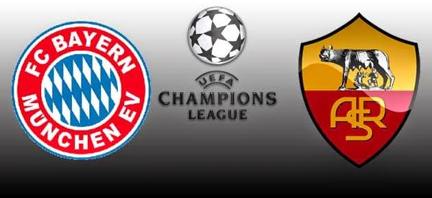 Bayern Munchen vs AS Roma Champions 2015