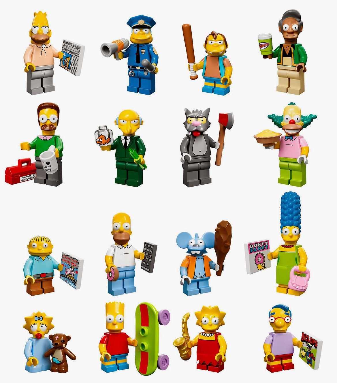 in deference to my idols update umpteenth lego simpsons