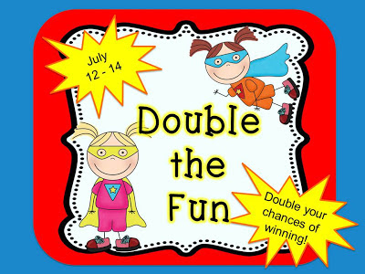 The Dynamic Duo is Back! Come visit Fern Smith's Classroom Ideas and Michelle at Teach123 every month to win two different lesson packets.