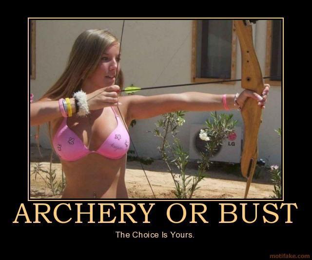 Archery Or Bust - Your Choice?