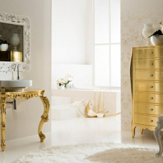 House of lavande blog baroque flourishes for Baroque style bathroom