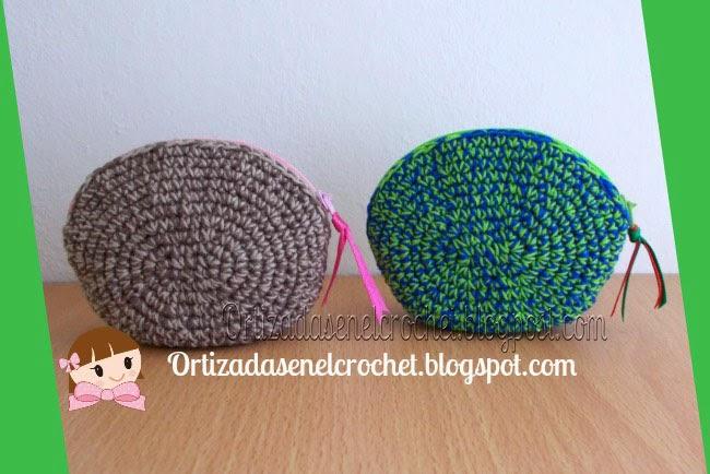 Monederos en crochet | Ortizadas en el Crochet