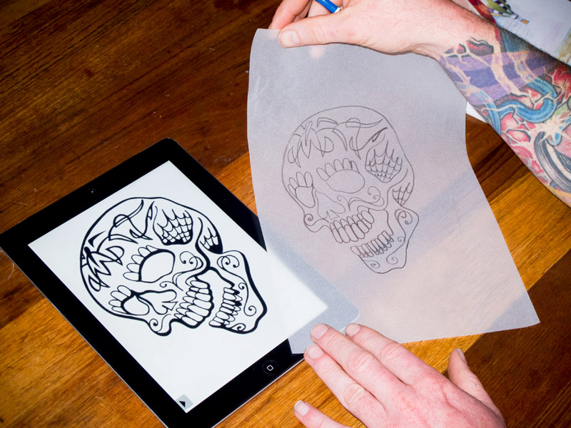 stencil paper One of the most important tools a professional tattoo artist uses is stencil paper a tattoo artist learns how to use a stencil during an apprenticeship a tattoo.