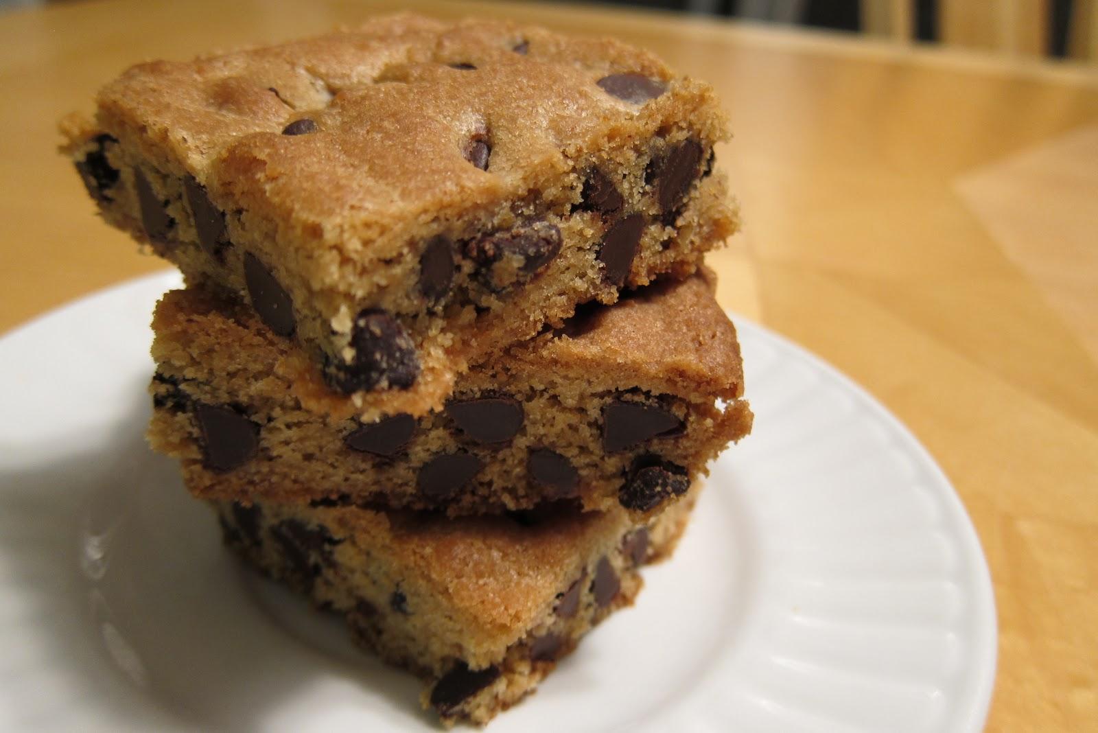 Ina Garten Chocolate Chunk Cookies Blondies