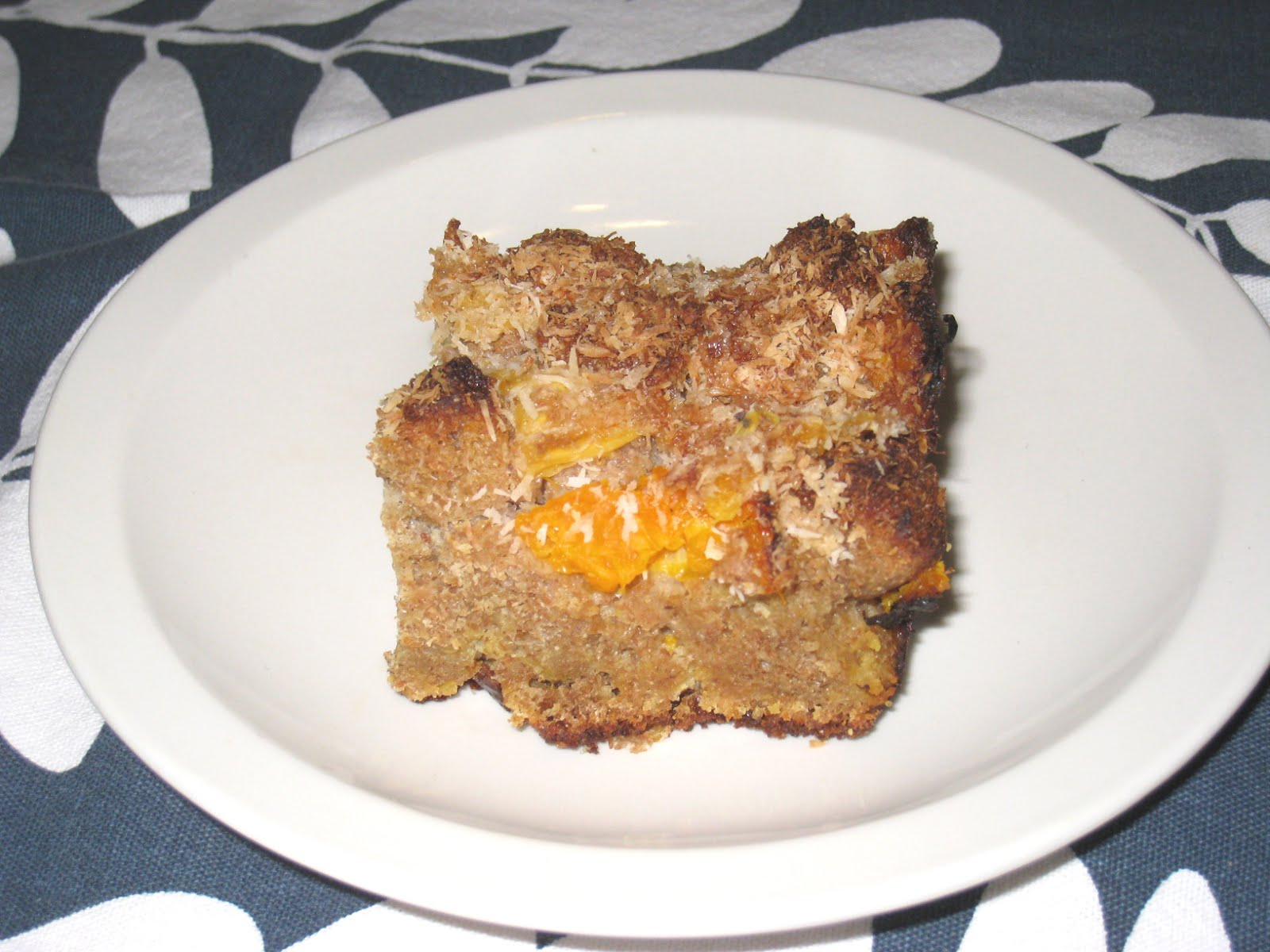 Cooking without a Net: Pineapple Orange Coconut Bread Pudding
