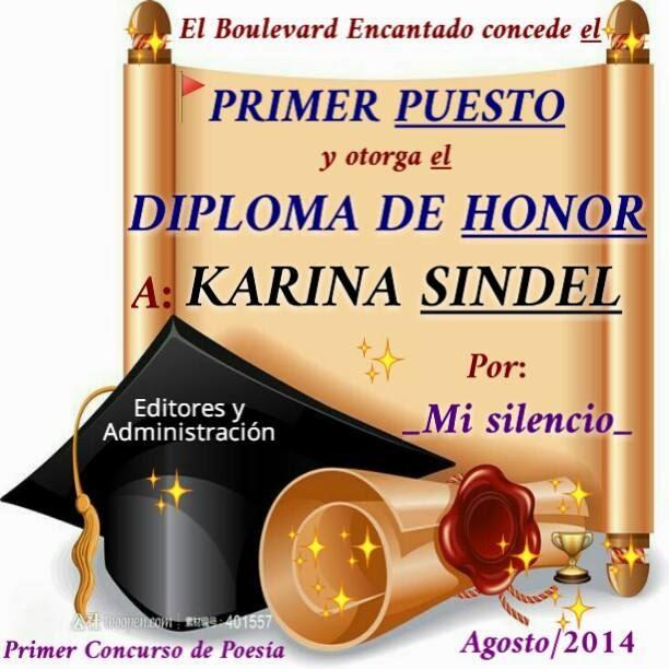 PRIMER CONCURSO DE POESIA