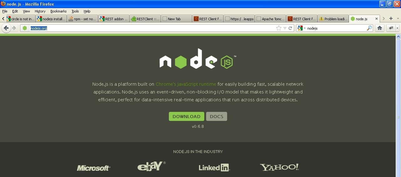 Nodejs Download - softpediacom
