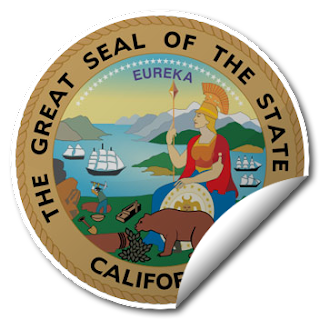 Sticker of California Seal