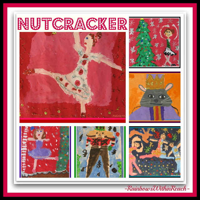 photo of: The Nutcracker Suite thru Third Grade Paintings via RainbowsWithinReach
