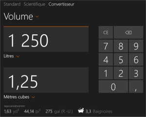 capture d'écran Windows 8