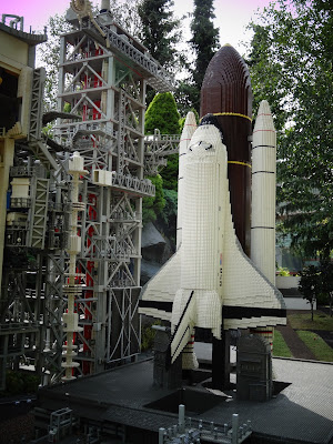 Lego space shuttle, Billund, Denmark