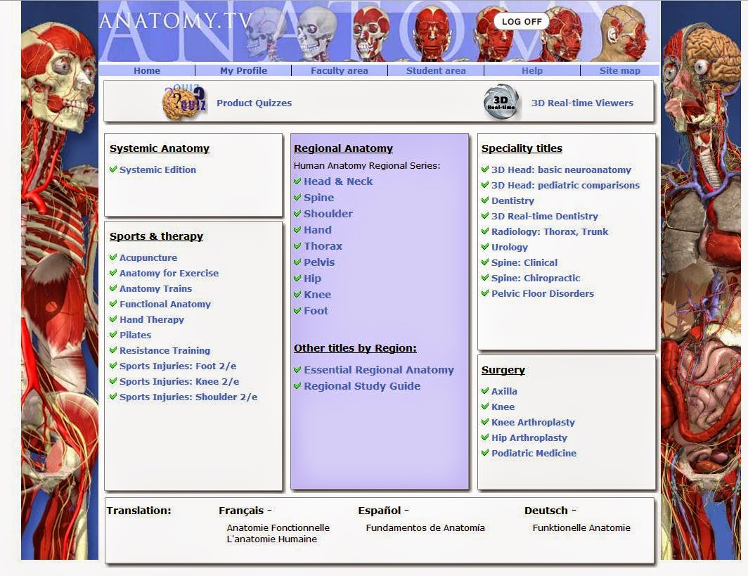 Anatomiczny: Primal Pictures - Anatomy and Physiology