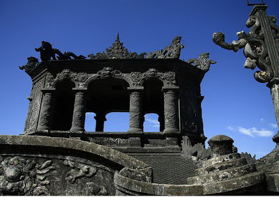 Discovering the beauty of the mausoleums in Hue