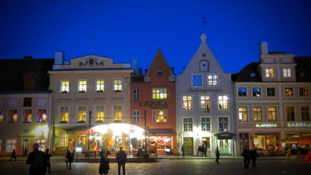 Tallinn - En hanseatisk stad med tindrar och torn