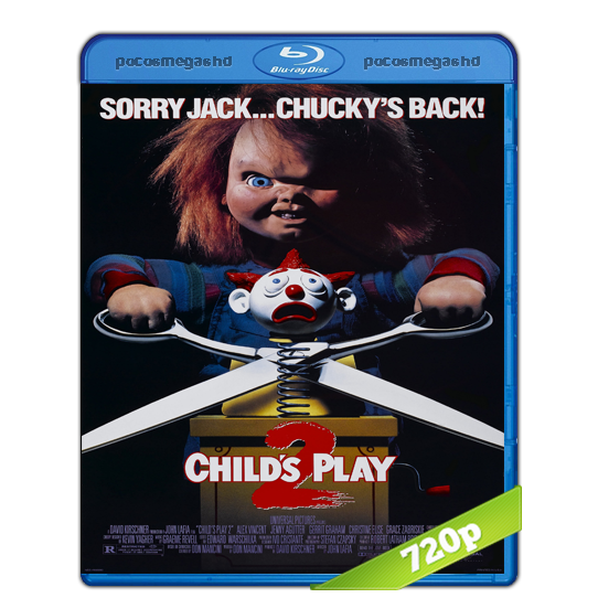 CHILD'S PLAY 2 (1990) BRRIP 720P AUDIO DUAL LATINO/INGLES 5.1