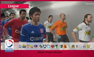 Modo Liga: Campeonato Chileno.