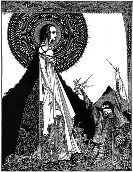 Ligeia, Ilustración de Harry Clarke, 1919