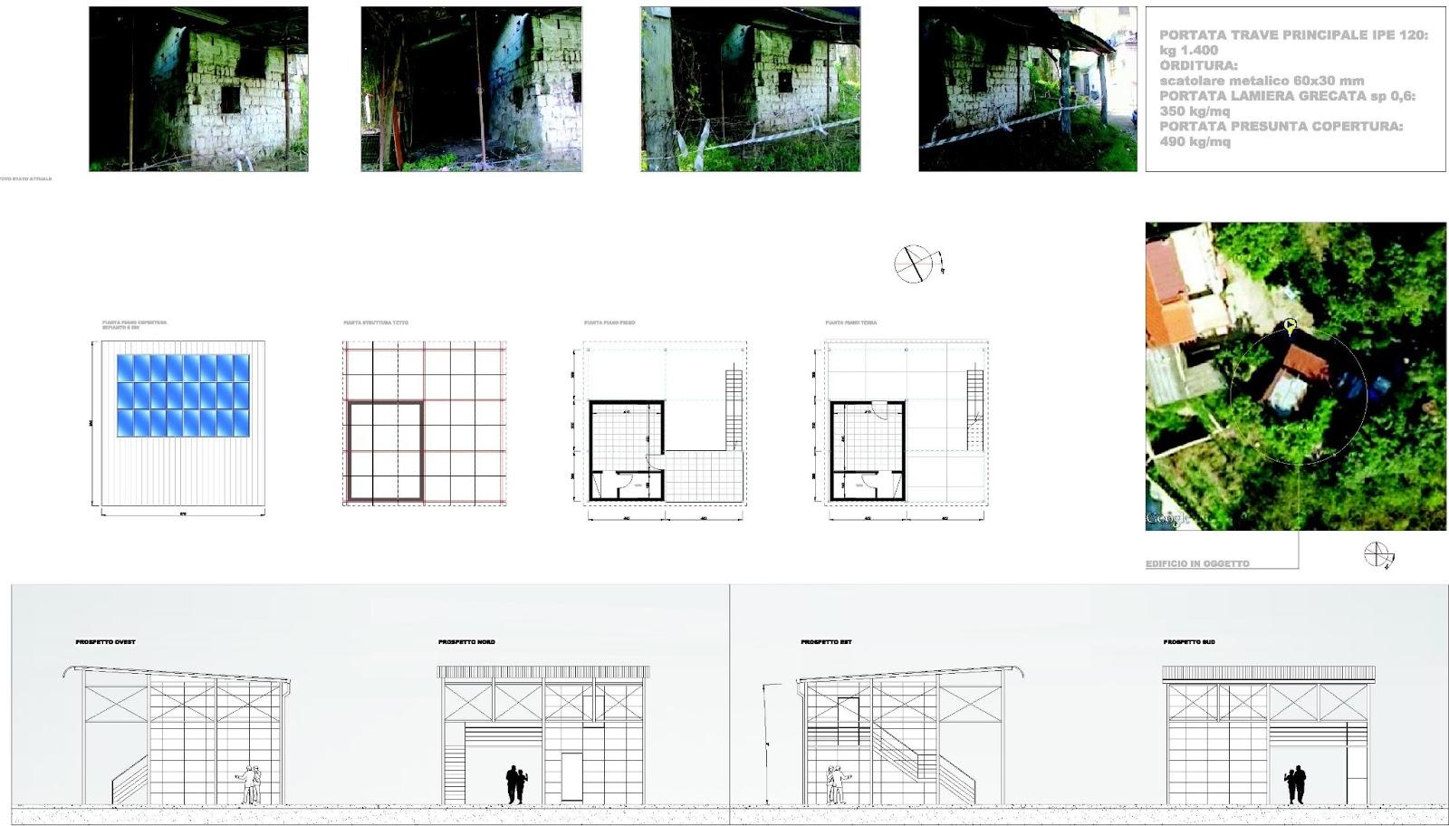 Architettura e progetti di qualit recupero di fabbricato for Progetti di costruzione commerciale gratuiti