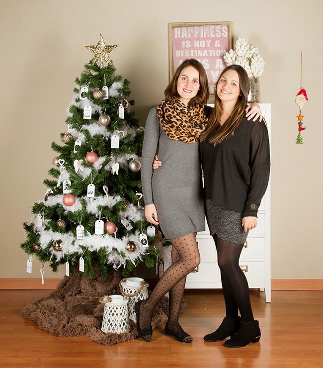 boho deco chic como decorar un rbol de navidad de estilo nrdico - Como Adornar Un Arbol De Navidad