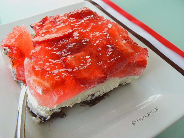 Strawberry Oreo Dessert
