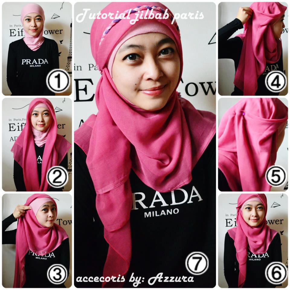 Cara Memakai Hijab Tutorial Hijab Modern Tutorial Hijab Lengkap
