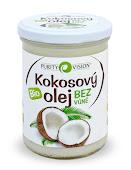 Kokosový olej bez vůně
