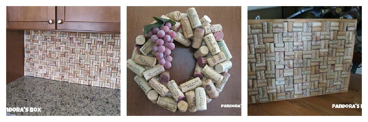 Pandora 39 s box what to do with wine corks for Things to do with wine corks