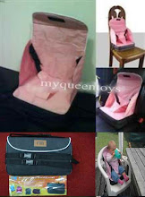 Brand New Mothercare Go Anywhere Booster Seat,SALE!!! RM 65 only!!!