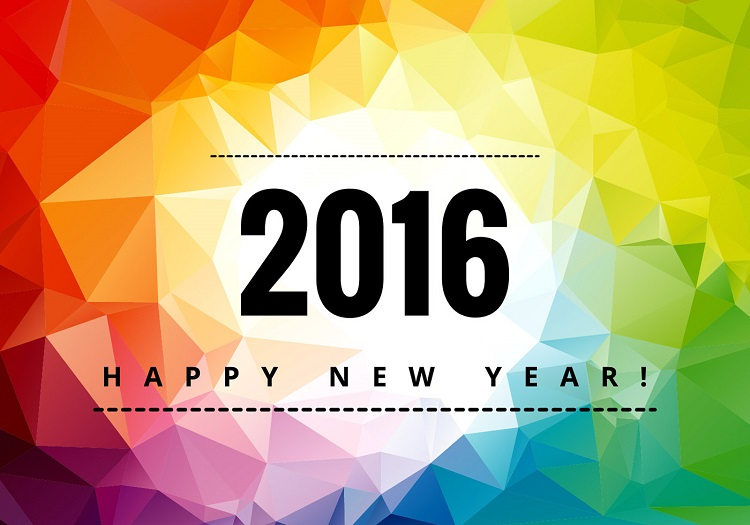 colorful new year images