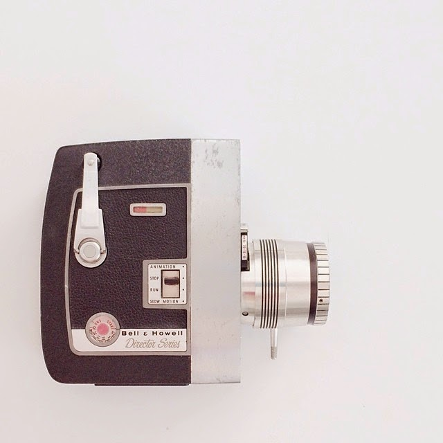 #thriftscorethursday Week 37 | Instagram user: laurairion shows off this Vintage Video Camera