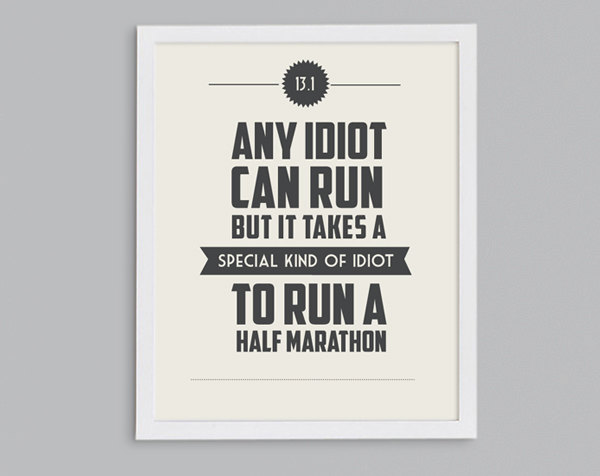 SKOC.: Half-Marathon Training: Any Idiot Can Run