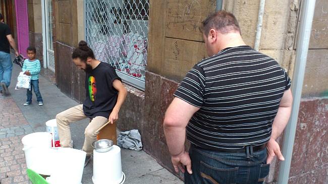 percusionista,Casco Viejo,Bilbao