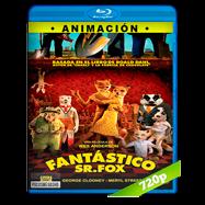El fantástico Sr. Zorro (2009) BRRip 720p Audio Dual Latino-Ingles