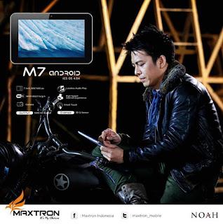 Maxtron Tab M7 Tablet Terjangkau Dengan Bintang Iklan Noah