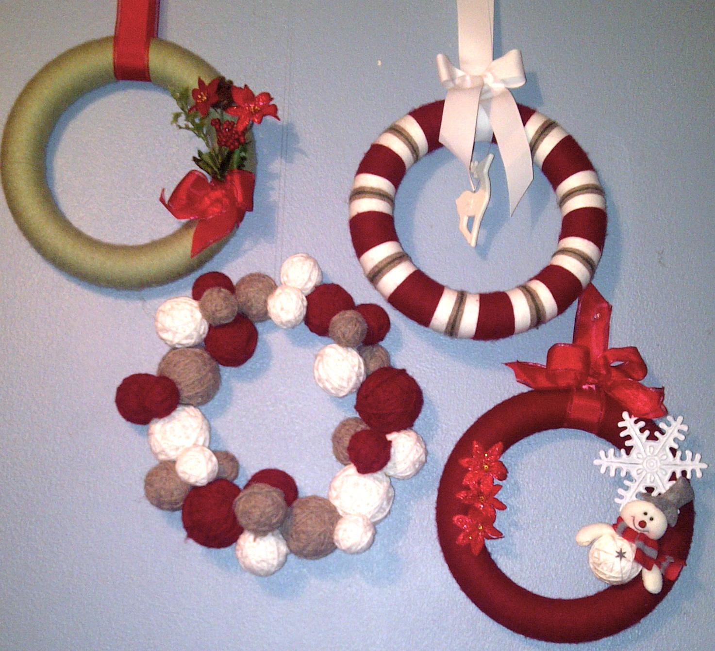 Rantin 39 ravin 39 winter christmas wreaths for Christmas wreath