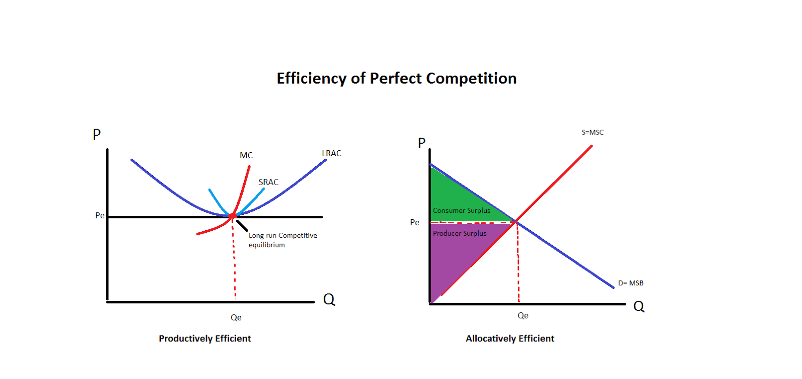 essays on perfect competition Monopoly and perfect competition in this essay, i will analyze how economic welfare changes if a market structure changing from perfect competition to a monopoly.